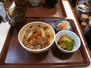 Sukiya dinner